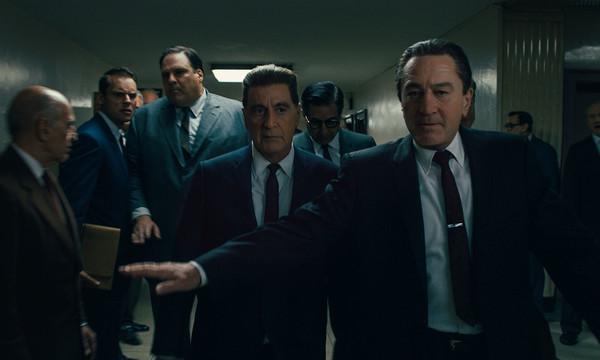 Escena de la película El irlandés de Martin Scorsese
