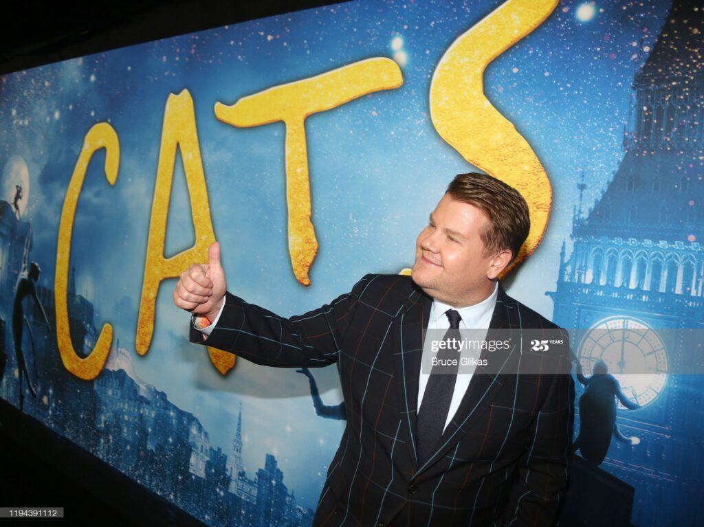 James Corden CATS