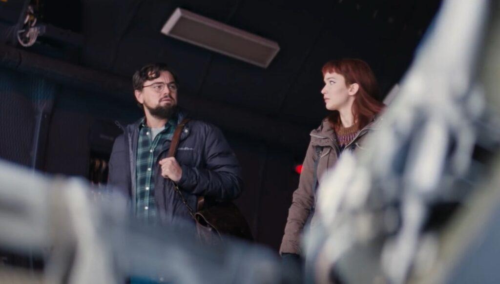Leo DiCaprio y Jennifer Lawrence