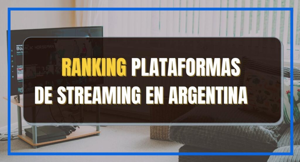 Ranking plataformas streaming
